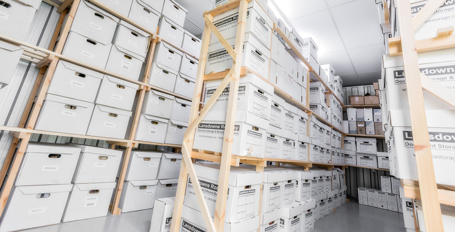 our archive storage facilities