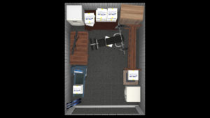 125 square foot of storage