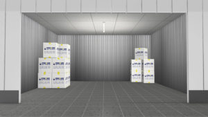 storage boxes in unit