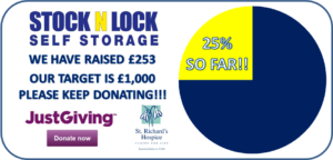 25% of target funds raised for st richards hospice