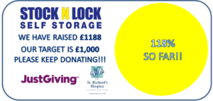 full target funds raised for st richards hospice
