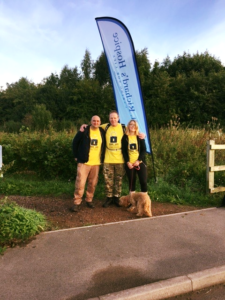 St Richard's hospice walk
