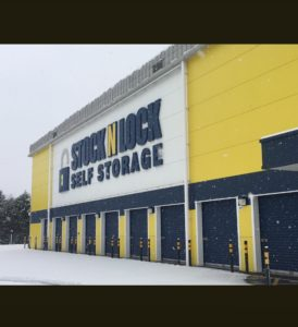 Worcester Storage in the Snow